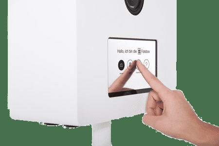 Fotobox Breisgau Touch Screen