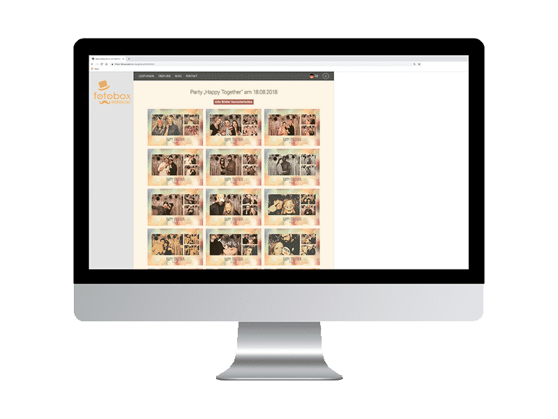 Online Gallerie der Fotobox Breisgau